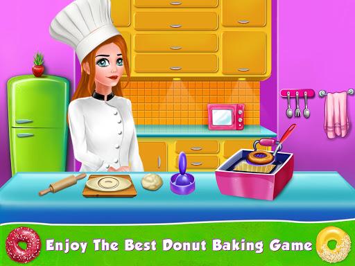 Kids Donut Bakery Food Maker Game 1.0 screenshots 1