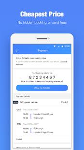 TrainPal - Cheapest UK Train Tickets - náhled