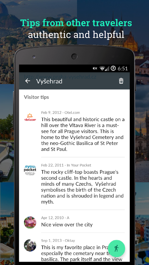 GoDiscover local attractions- screenshot