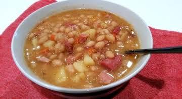 ~ Hearty Ham & Bean Soup ~ Cass's Way