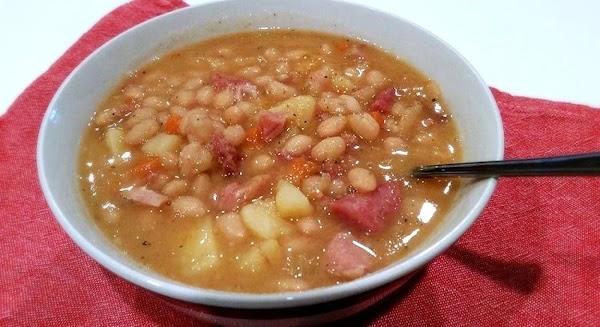 ~ Hearty Ham & Bean Soup ~ Cass's Way Recipe