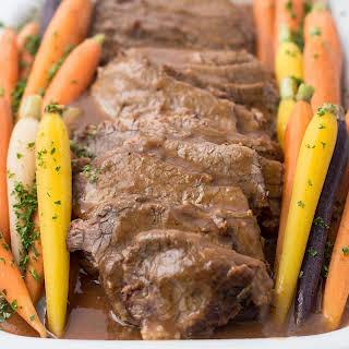 Pressure Cooker Beef Brisket.