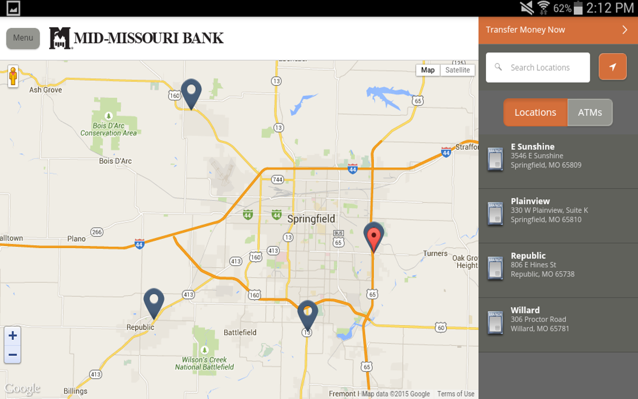 Mid-Missouri Bank- screenshot