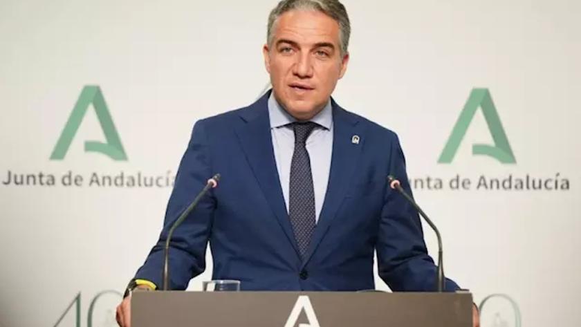 Consejero andaluz de la Presidencia, Administración Pública e Interior, Elías Bendodo.