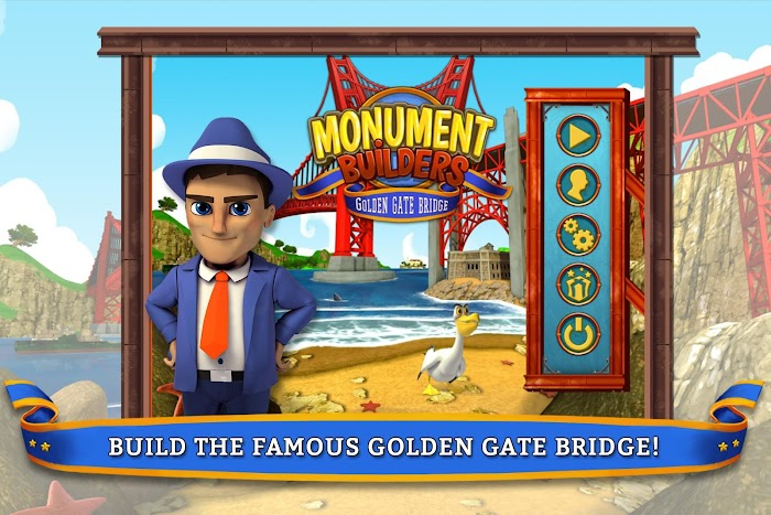 Monument Builders- Golden Gate- screenshot