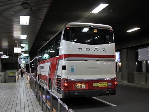 北海道中央バス「ドリーミントオホーツク号」 3948 札幌駅前ターミナル到着_02