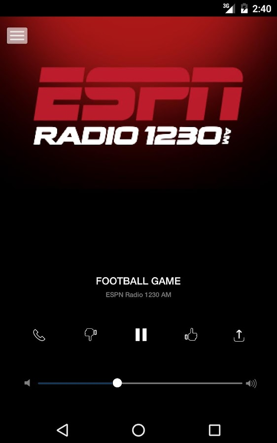 ESPN 1230AM - Grand Junction Sports Radio (KEXO)- screenshot