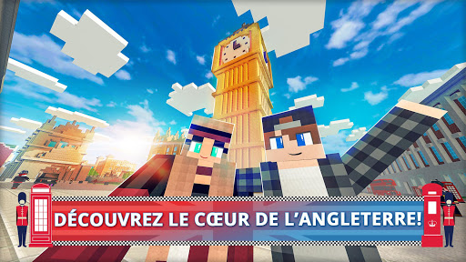 London Craft: Jeux de crafting et de construction  captures d'u00e9cran 1