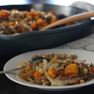 Pork-Squash-Cabbage Mash-Up (AIP, Paleo, SCD, Whole30)