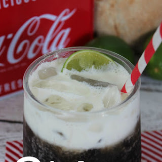 Cool Drink Recipe- Dirty Coke w/Homemade Coconut Syrup.