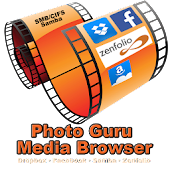 PhotoGuru for Facebook,Dropbox