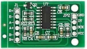 Arduino based digital weight scale using HX711 Module