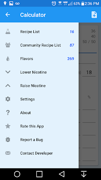 EJuice Calculator APK screenshot thumbnail 6