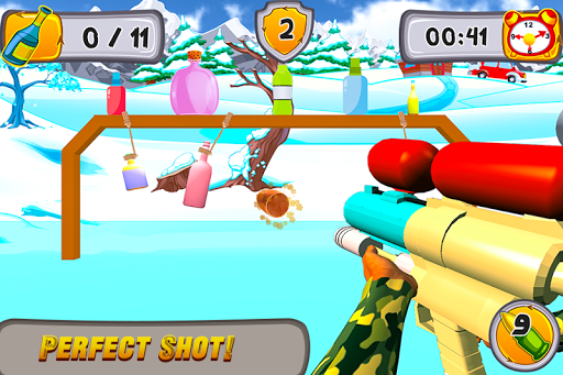 Kids Bottle Shooting  screenshots 3