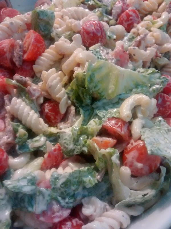 Mel's Blt Dinner Salad Recipe