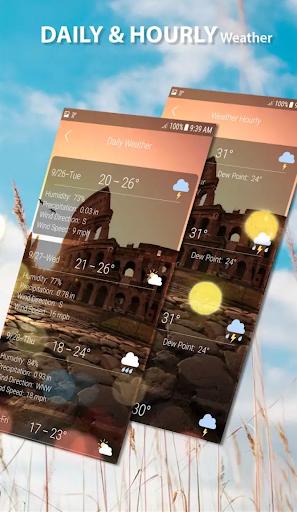 Previsão do Tempo - Tempo ao Vivo screenshot 2