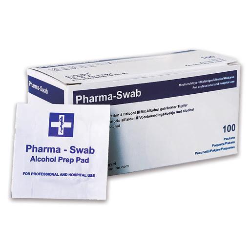 Almohadilla Con Alcohol Pharma Swab