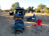 Photo: Camp at Justensen Flats