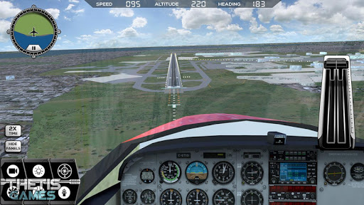 Flight Simulator 2017 FlyWings Free  screenshots 9