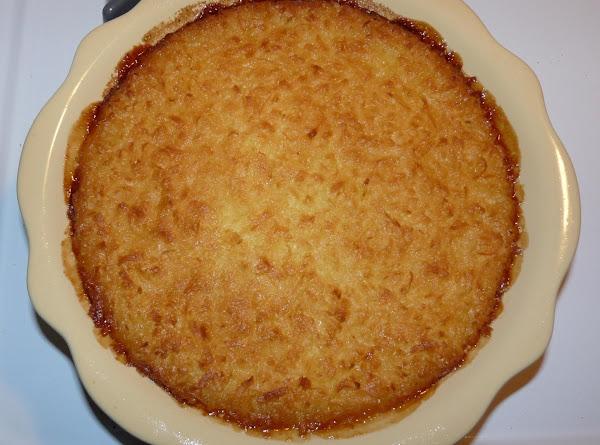 Impossible Coconut Pie Recipe