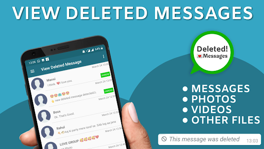 View deleted messages & photo recovery App Download For Android 1