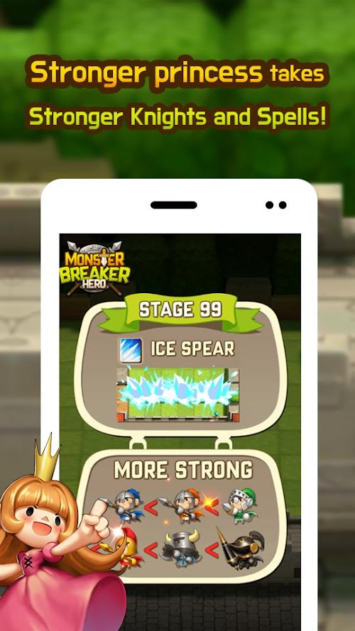 Screenshot 3 Monster Breaker Hero 7.6 APK MOD