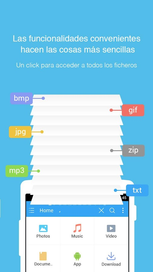 ES File Explorer File Manager: captura de pantalla