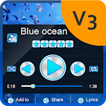 Blue ocean PlayerPro Skin 3.0.3 Burnt Yellow