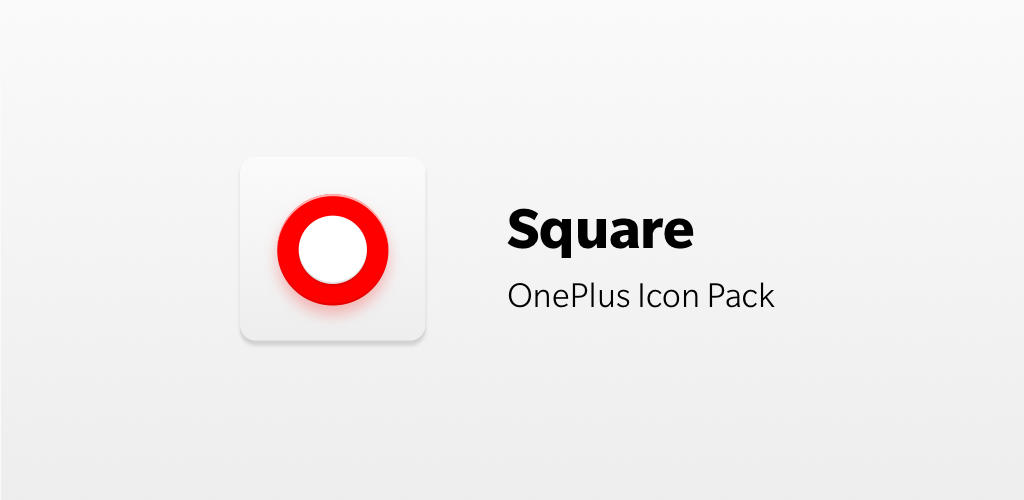 Download OnePlus Icon Pack - Square APK latest version app