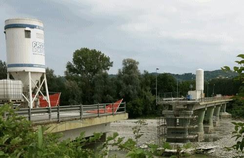 Ponte di Castiglione Torinese - Lavori di ripristino