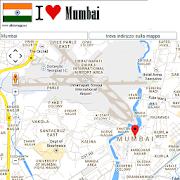Mumbai map  Icon