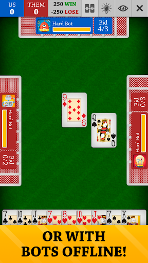 Spades Free: Card Game Online and Offline screenshots 3