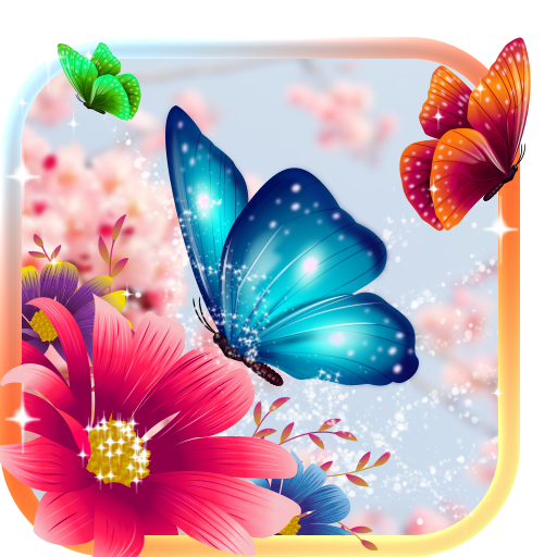 Butterflies Animated Keyboard Live Wallpaper Apps On