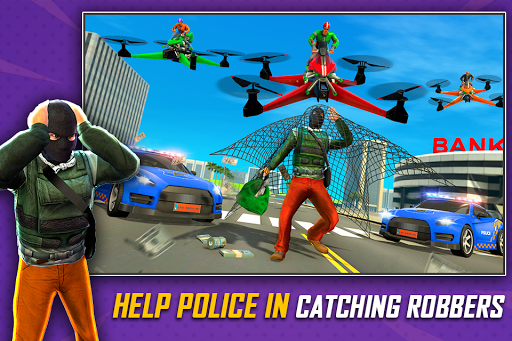 Drone Rescue Simulator: Flying Bike Transport Game android2mod screenshots 6