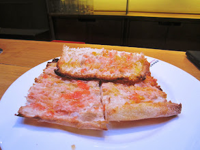 Photo: This crispy bread with tomatoes and olive oil is so good