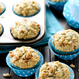 Loaded Banana Muffins.