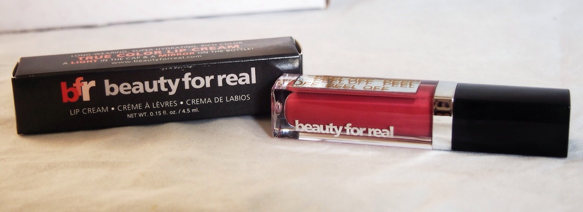 Beauty For Real: True Color Lip Cream in Always There