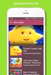 Kids Edu Video - náhled