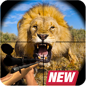 Animal Hunting : Lion Sniper Hunter
