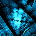 Matrix 3D Cubes 3 Trial LWP icon