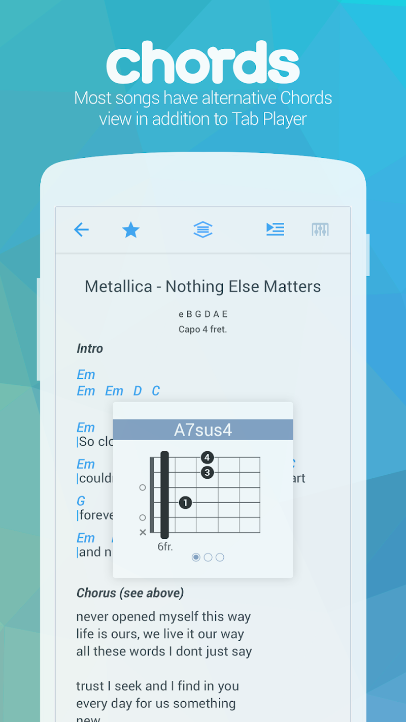 Songsterr Guitar Tabs & Chords Screenshot 2