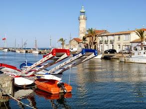 Photo: les barques de joutes