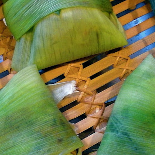 Sweet Corn Tamales.