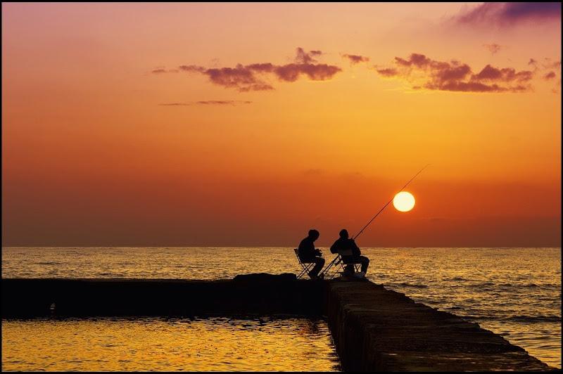 a pesca di tramonti di Gloria Staffa