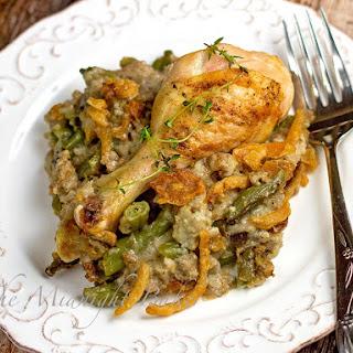 Chicken or Turkey & Stuffing Supreme Casserole.