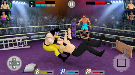 Tag team wrestling 2020: Cage death fighting Stars screenshots 3