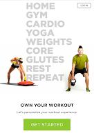 Screenshot of Workout Trainer