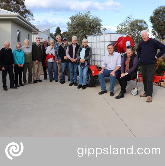 Local MP Darren Chester, pictured with Eastwood Landcare Group volunteers, is encouraging Gippslanders to have their say as part of the National Landcare Program review