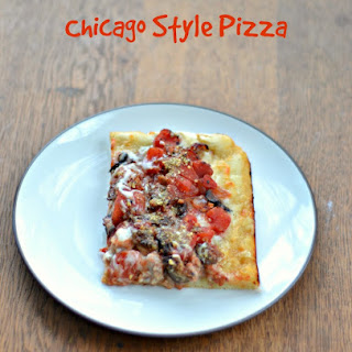 Chicago Style Pizza.