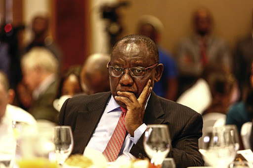 President Cyril Ramaphosa hasn't yet explained how you remove property rights without putting the entire foundation on which we base our economy and our ability to create and distribute wealth at risk, says the writer.  Picture: Moeletsi Mabe